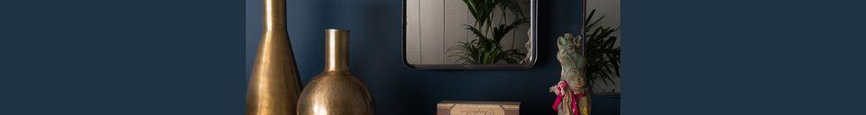 Materialbeschreibung Spiegel Poke Größe M