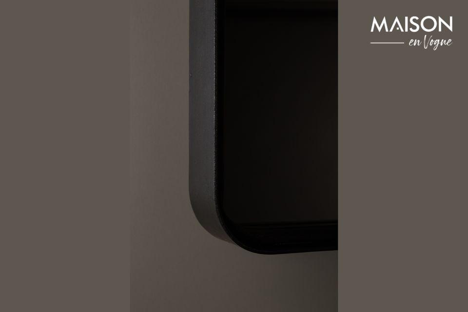Dieses Produkt besteht aus einem quadratischen Eisenrahmen, der mit Schwarzpulver beschichtet ist