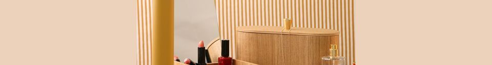 Materialbeschreibung Spiegelkasten aus Weidenholz Curchy