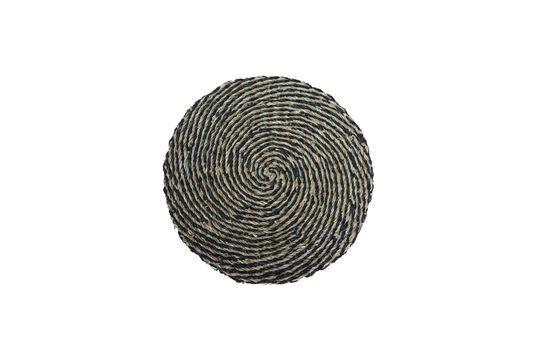 Spiralförmige Tischunterlage im natürlichen Meeresrauschen Laveyron