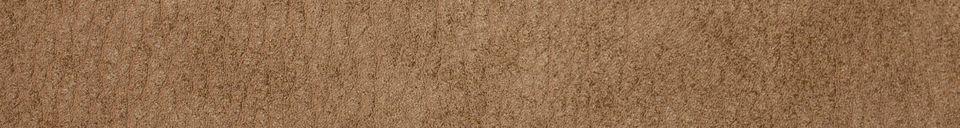Materialbeschreibung Stuhl New Willow aus Leder in Mocca