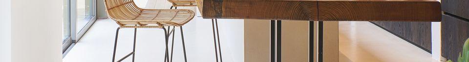 Materialbeschreibung Sun Bar Stuhl