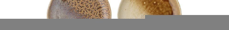 Materialbeschreibung Teller Camelia aus Stein