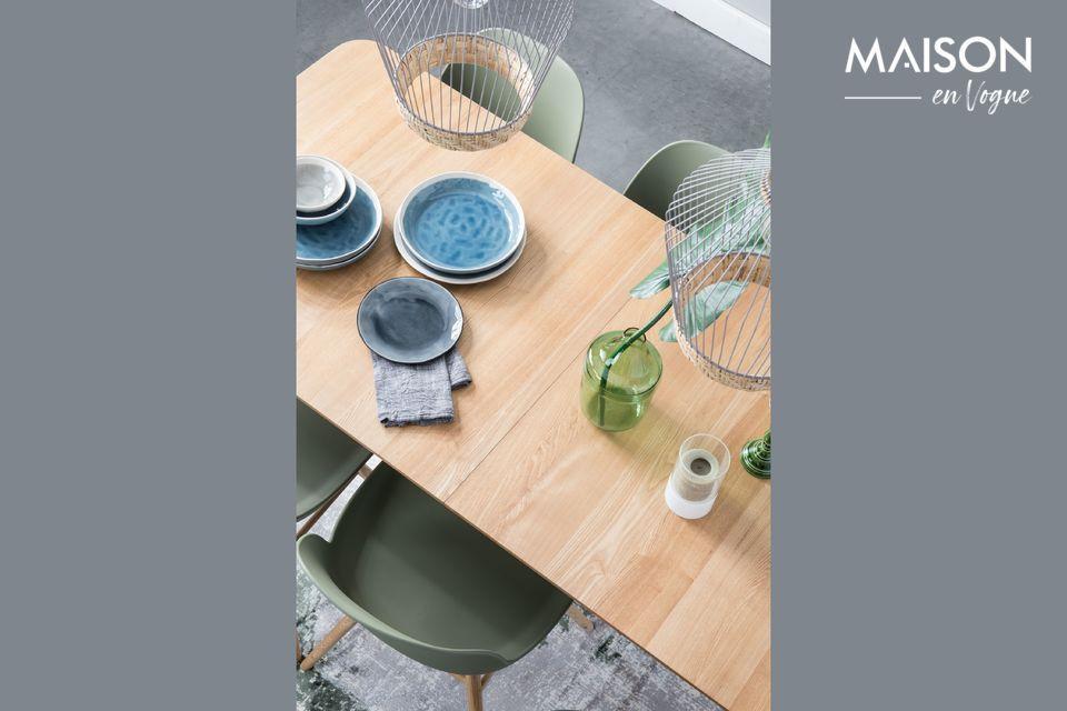 Dieser Tisch Glimps 180/240x90 Natural wird sich leicht an Ihr tägliches Leben anpassen