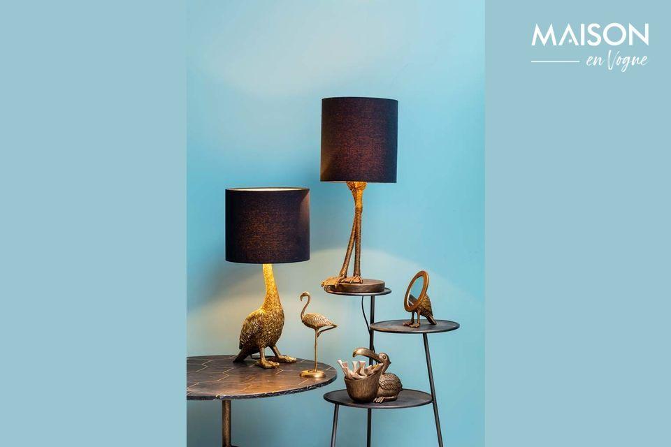 Eine originelle und raffinierte Lampe