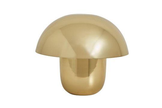 Tischlampe Focus aus vergoldetem Metall ohne jede Grenze