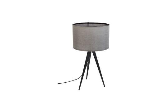 Tischlampe Tripod schwarz und grau