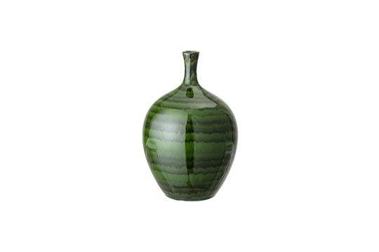 Vase aus grünem Stein Amazy
