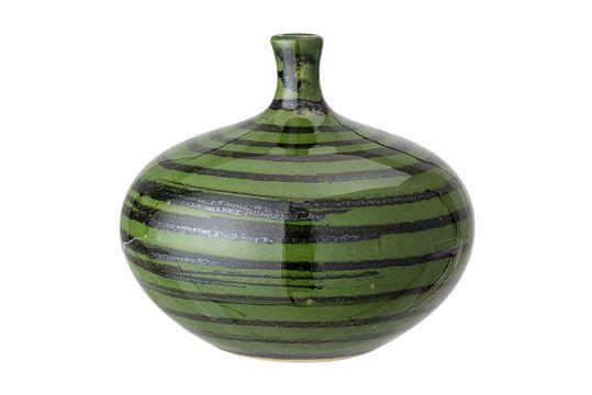 Vase aus grünem Stein Landroff